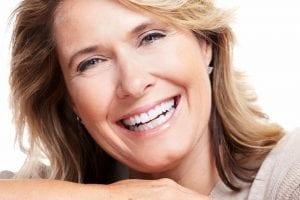 Older Woman smiling at camera
