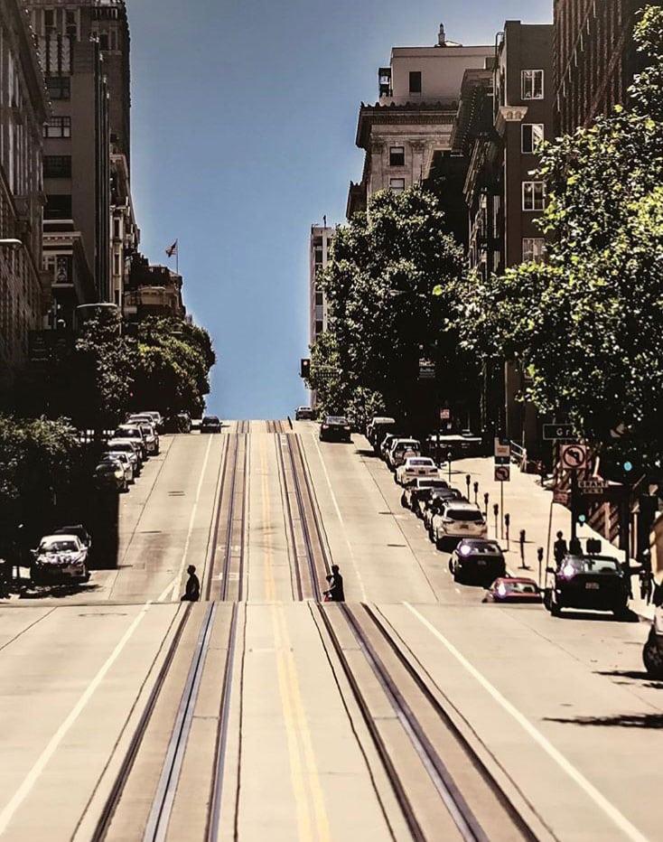 San Francisco Trolly Way
