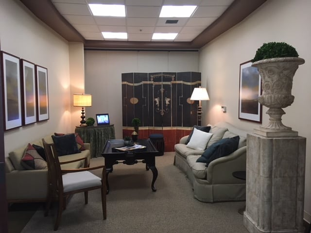 Davis Office Reception Area