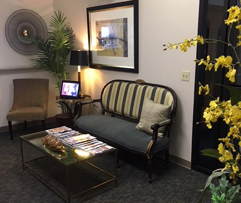 Petaluma Plastic Surgery Office Loby