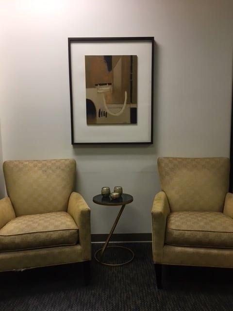 Petaluma Plastic Surgery Office Seating