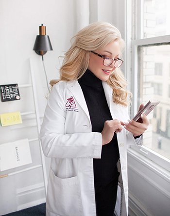 Dr. Kimberly Henry at work